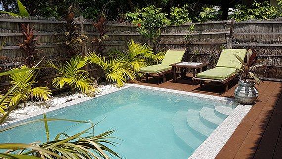Garden Villa Pool Kihaa Maldives Resort