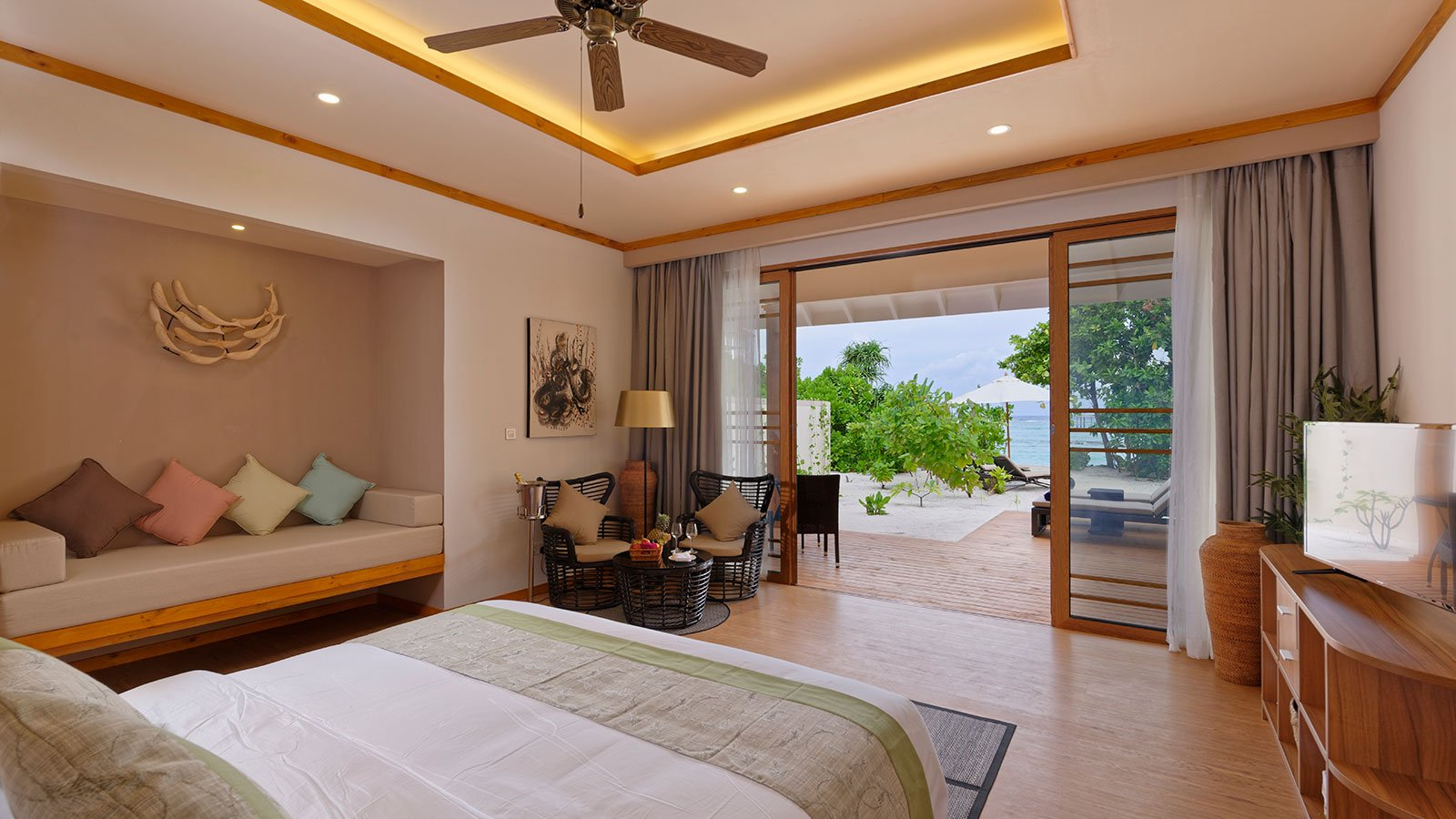 Beach Villas at Brennia Maldives